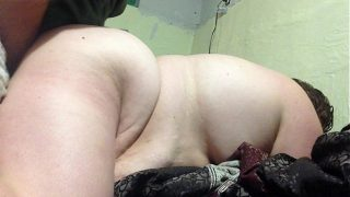 Amateur BBW Fatty Fucks DoggyStyle