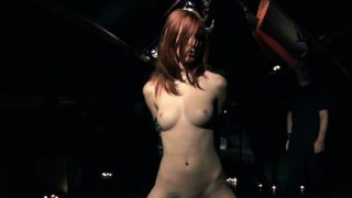 Bdsm Punishment desires for a captive redhead young slave