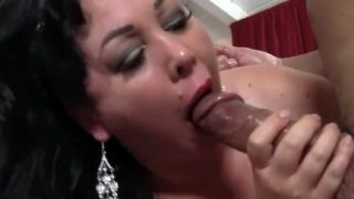Sexy MILF BBW Alexis Couture filled with cock