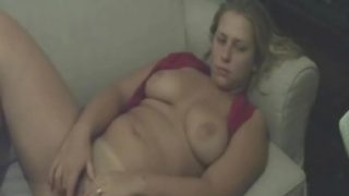 BBW Anal Sex On Couch