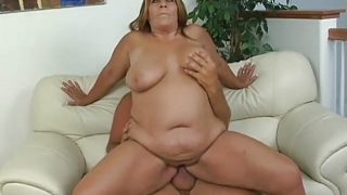 BBW Leighann Banged And Jizzed On
